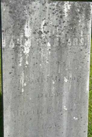 SEARS, ALMIRA - Berkshire County, Massachusetts   ALMIRA SEARS - Massachusetts Gravestone Photos