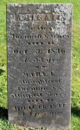 SEARS, ABIGAIL - Berkshire County, Massachusetts | ABIGAIL SEARS - Massachusetts Gravestone Photos