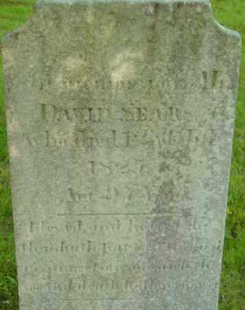 SEARS, DAVID - Berkshire County, Massachusetts | DAVID SEARS - Massachusetts Gravestone Photos