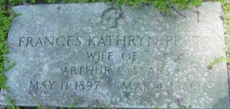 PRATT, FRANCES KATHRYN - Berkshire County, Massachusetts | FRANCES KATHRYN PRATT - Massachusetts Gravestone Photos