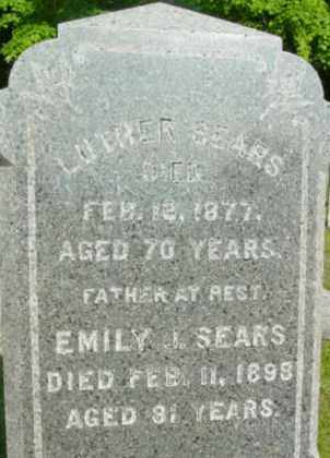 SEARS, LUTHER - Berkshire County, Massachusetts | LUTHER SEARS - Massachusetts Gravestone Photos