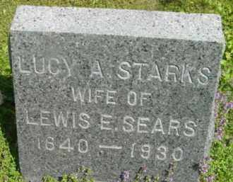 SEARS, LUCY A - Berkshire County, Massachusetts | LUCY A SEARS - Massachusetts Gravestone Photos