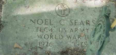 SEARS, NOEL C - Berkshire County, Massachusetts | NOEL C SEARS - Massachusetts Gravestone Photos