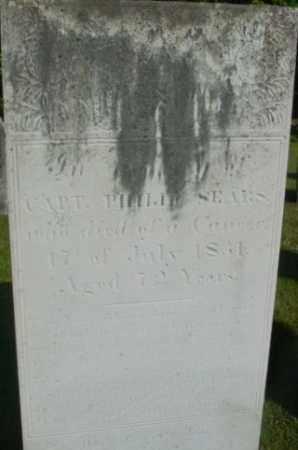 SEARS, PHILIP - Berkshire County, Massachusetts | PHILIP SEARS - Massachusetts Gravestone Photos
