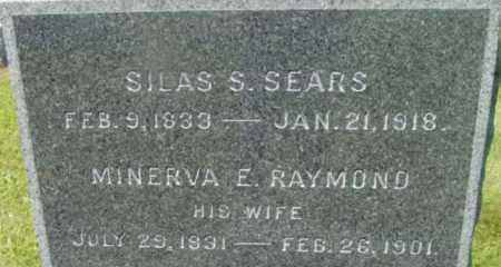 SEARS, SILAS S - Berkshire County, Massachusetts | SILAS S SEARS - Massachusetts Gravestone Photos