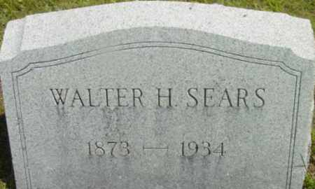 SEARS, WALTER H - Berkshire County, Massachusetts | WALTER H SEARS - Massachusetts Gravestone Photos