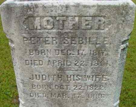 SEBILLE, JUDITH - Berkshire County, Massachusetts | JUDITH SEBILLE - Massachusetts Gravestone Photos