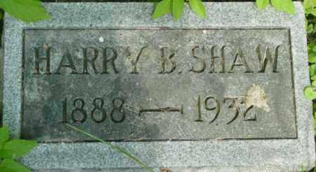 SHAW, HARRY B - Berkshire County, Massachusetts | HARRY B SHAW - Massachusetts Gravestone Photos
