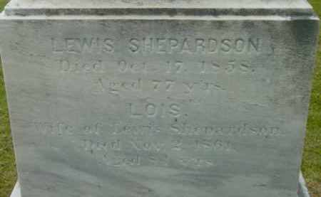 SHEPARDSON, LOIS - Berkshire County, Massachusetts | LOIS SHEPARDSON - Massachusetts Gravestone Photos