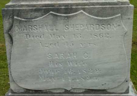 SHEPARDSON, MARSHALL - Berkshire County, Massachusetts | MARSHALL SHEPARDSON - Massachusetts Gravestone Photos