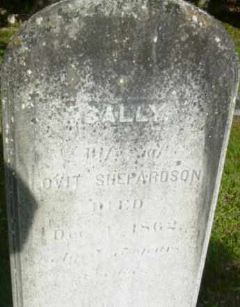 SHEPARDSON, SALLY - Berkshire County, Massachusetts   SALLY SHEPARDSON - Massachusetts Gravestone Photos
