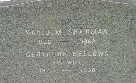 SHERMAN, GERTRUDE - Berkshire County, Massachusetts   GERTRUDE SHERMAN - Massachusetts Gravestone Photos