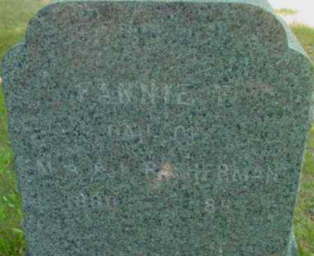 SHERMAN, FANNIE E - Berkshire County, Massachusetts   FANNIE E SHERMAN - Massachusetts Gravestone Photos