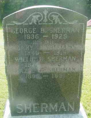 SHERMAN, WILLIE B - Berkshire County, Massachusetts | WILLIE B SHERMAN - Massachusetts Gravestone Photos