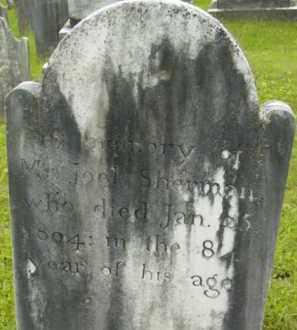 SHERMAN, JOEL - Berkshire County, Massachusetts | JOEL SHERMAN - Massachusetts Gravestone Photos