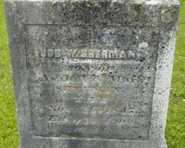 SHERMAN, JOB W - Berkshire County, Massachusetts   JOB W SHERMAN - Massachusetts Gravestone Photos