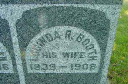 BOOTH, LUCINDA R - Berkshire County, Massachusetts | LUCINDA R BOOTH - Massachusetts Gravestone Photos