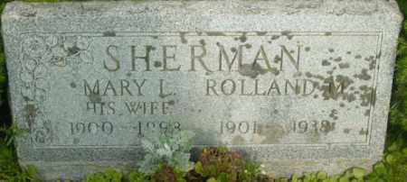 SHERMAN, MARY L - Berkshire County, Massachusetts   MARY L SHERMAN - Massachusetts Gravestone Photos