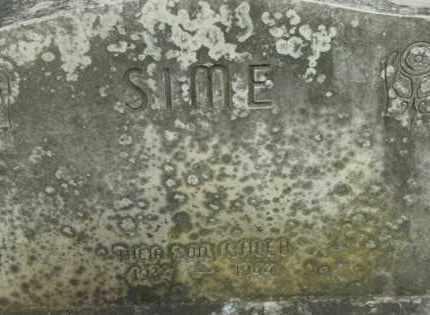 SIME, CALEB - Berkshire County, Massachusetts | CALEB SIME - Massachusetts Gravestone Photos