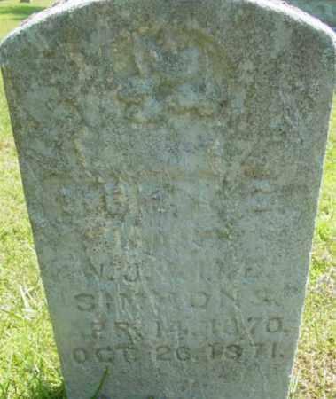 SIMMONS, CORNELIA - Berkshire County, Massachusetts   CORNELIA SIMMONS - Massachusetts Gravestone Photos