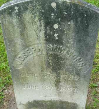 SIMMONS, JOSEPH - Berkshire County, Massachusetts | JOSEPH SIMMONS - Massachusetts Gravestone Photos