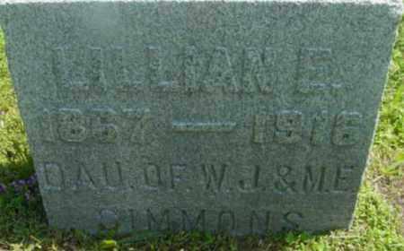 SIMMONS, LILLIAN E - Berkshire County, Massachusetts   LILLIAN E SIMMONS - Massachusetts Gravestone Photos