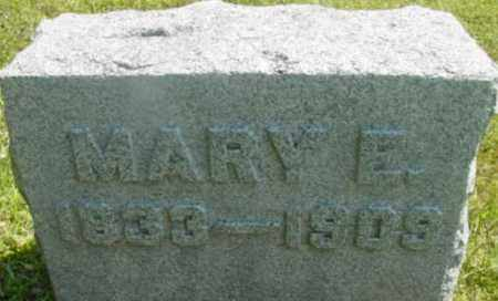 SIMMONS, MARY E - Berkshire County, Massachusetts | MARY E SIMMONS - Massachusetts Gravestone Photos