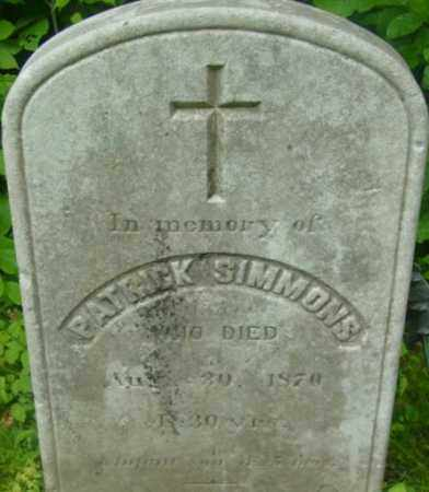 SIMMONS, INFANT SON - Berkshire County, Massachusetts | INFANT SON SIMMONS - Massachusetts Gravestone Photos