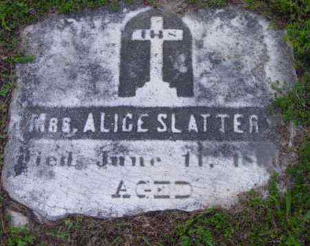 SLATTERY, ALICE - Berkshire County, Massachusetts | ALICE SLATTERY - Massachusetts Gravestone Photos