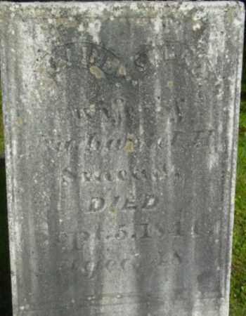 SMEAD, MALINDA - Berkshire County, Massachusetts | MALINDA SMEAD - Massachusetts Gravestone Photos