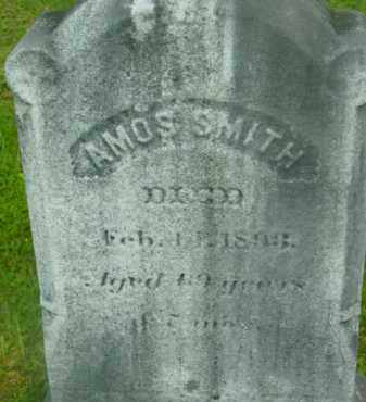 SMITH, AMOS - Berkshire County, Massachusetts   AMOS SMITH - Massachusetts Gravestone Photos