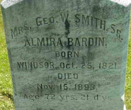 BARDIN, ALMIRA - Berkshire County, Massachusetts | ALMIRA BARDIN - Massachusetts Gravestone Photos