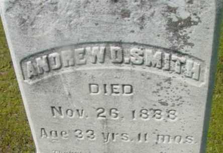 SMITH, ANDREW D - Berkshire County, Massachusetts   ANDREW D SMITH - Massachusetts Gravestone Photos