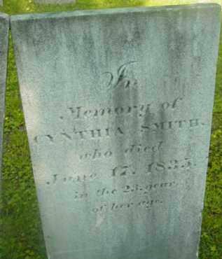 SMITH, CYNTHIA - Berkshire County, Massachusetts | CYNTHIA SMITH - Massachusetts Gravestone Photos