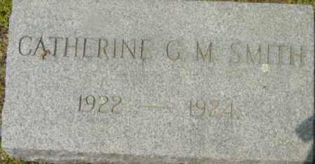 SMITH, CATHERINE C M - Berkshire County, Massachusetts | CATHERINE C M SMITH - Massachusetts Gravestone Photos