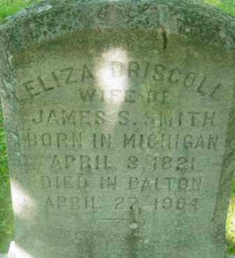 SMITH, ELIZA - Berkshire County, Massachusetts | ELIZA SMITH - Massachusetts Gravestone Photos