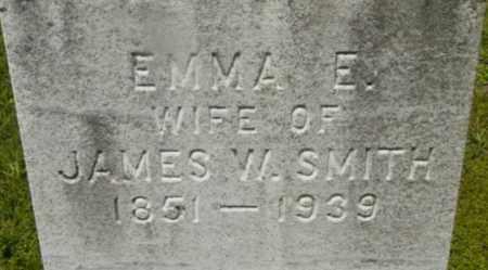 SMITH, EMMA E - Berkshire County, Massachusetts | EMMA E SMITH - Massachusetts Gravestone Photos