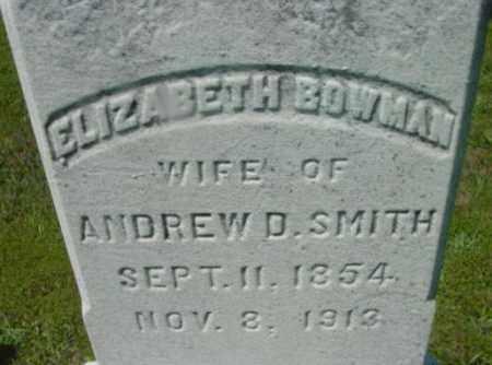 SMITH, ELIZABETH - Berkshire County, Massachusetts   ELIZABETH SMITH - Massachusetts Gravestone Photos