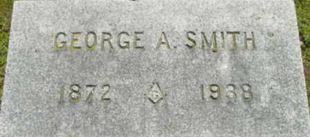 SMITH, GEORGE A - Berkshire County, Massachusetts | GEORGE A SMITH - Massachusetts Gravestone Photos