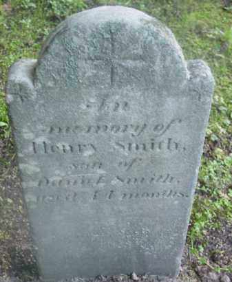 SMITH, HENRY - Berkshire County, Massachusetts | HENRY SMITH - Massachusetts Gravestone Photos