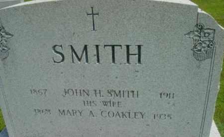 SMITH, JOHN H - Berkshire County, Massachusetts | JOHN H SMITH - Massachusetts Gravestone Photos