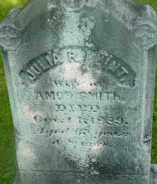 SMITH, JULIA R - Berkshire County, Massachusetts | JULIA R SMITH - Massachusetts Gravestone Photos