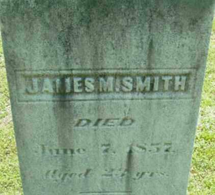 SMITH, JAMES M - Berkshire County, Massachusetts | JAMES M SMITH - Massachusetts Gravestone Photos