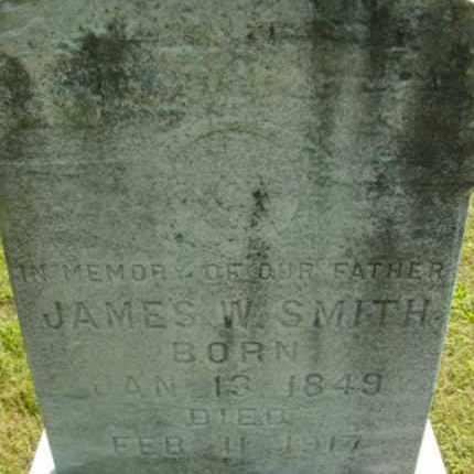 SMITH, JAMES W - Berkshire County, Massachusetts   JAMES W SMITH - Massachusetts Gravestone Photos