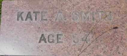 SMITH, KATE A - Berkshire County, Massachusetts | KATE A SMITH - Massachusetts Gravestone Photos