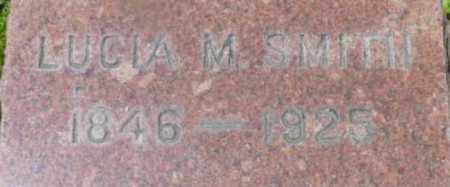 SMITH, LUCIA M - Berkshire County, Massachusetts | LUCIA M SMITH - Massachusetts Gravestone Photos
