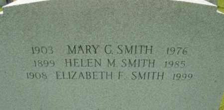SMITH, MARY G - Berkshire County, Massachusetts   MARY G SMITH - Massachusetts Gravestone Photos