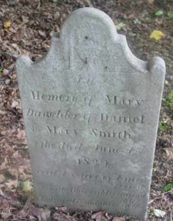 SMITH, MARY - Berkshire County, Massachusetts   MARY SMITH - Massachusetts Gravestone Photos