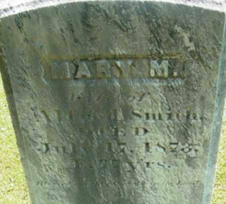 SMITH, MARY M - Berkshire County, Massachusetts | MARY M SMITH - Massachusetts Gravestone Photos