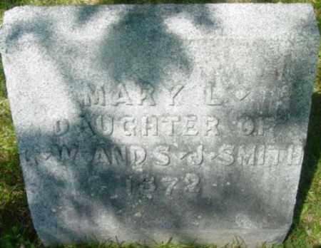 SMITH, MARY L - Berkshire County, Massachusetts | MARY L SMITH - Massachusetts Gravestone Photos